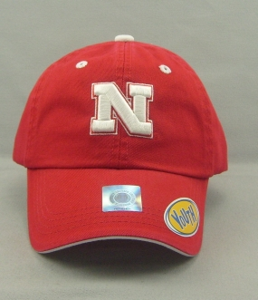 Nebraska Cornhuskers Youth Crew Adjustable Hat