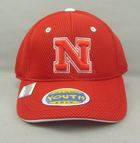 Nebraska Cornhuskers Youth Elite One Fit Hat