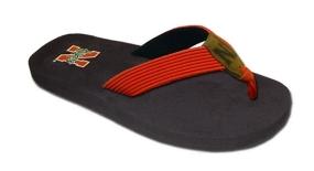 Nebraska Cornhuskers Flip Flop Sandals