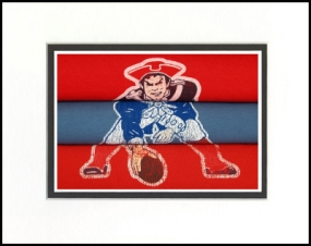 New England Patriots Vintage T-Shirt Sports Art