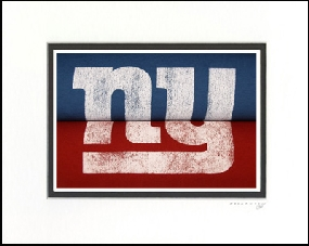 New York Giants Vintage T-Shirt Sports Art