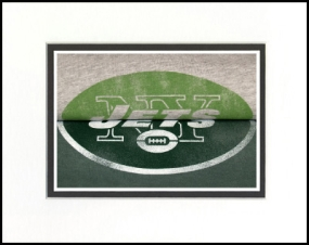 New York Jets Vintage T-Shirt Sports Art