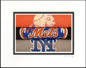 New York Mets Vintage T-Shirt Sports Art