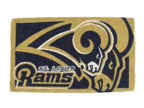 Saint Louis Rams Welcome Mat