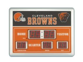 Cleveland Browns Scoreboard Clock