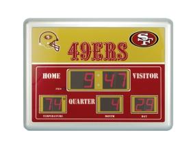San Francisco 49ers Scoreboard Clock