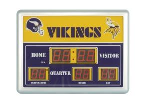 Minnesota Vikings Scoreboard Clock