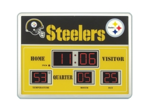 Pittsburgh Steelers Scoreboard Clock