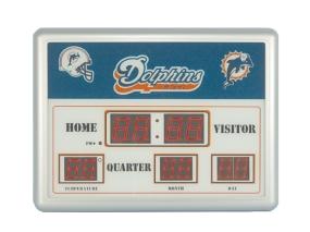 Miami Dolphins Scoreboard Clock