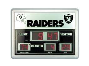 Oakland Raiders Scoreboard Clock