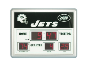 New York Jets Scoreboard Clock