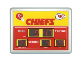Kansas City Chiefs Scoreboard Clock