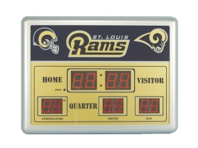 Saint Louis Rams Scoreboard Clock