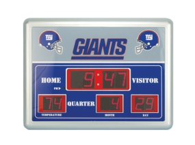 New York Giants Scoreboard Clock
