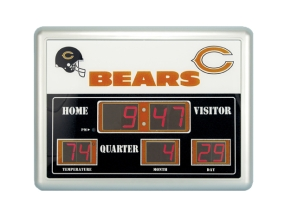 Chicago Bears Scoreboard Clock