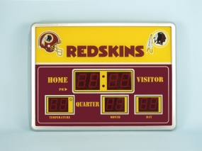 Washington Redskins Scoreboard Clock