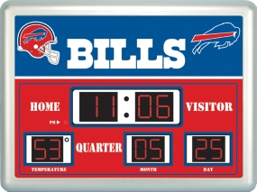 Buffalo Bills Scoreboard Clock