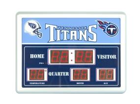 Tennessee Titans Scoreboard Clock