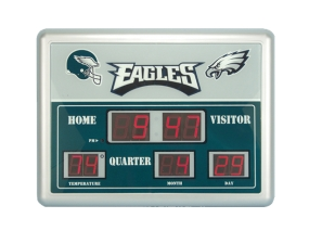 Philadelphia Eagles Scoreboard Clock