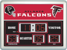 Atlanta Falcons Scoreboard Clock