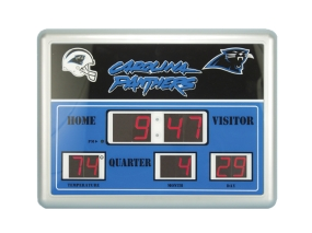 Carolina Panthers Scoreboard Clock
