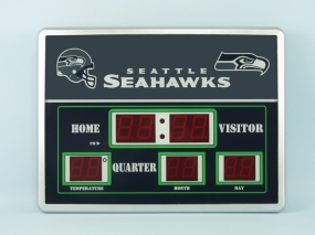 Seattle Seahawks Scoreboard Clock