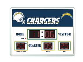 San Diego Chargers Scoreboard Clock