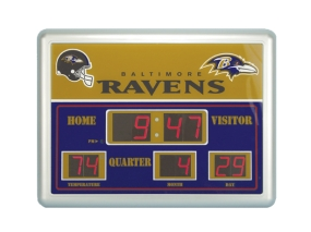 Baltimore Ravens Scoreboard Clock