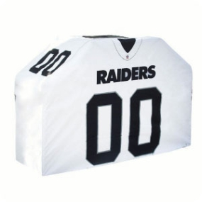 Oakland Raiders Jersey Grill Cover