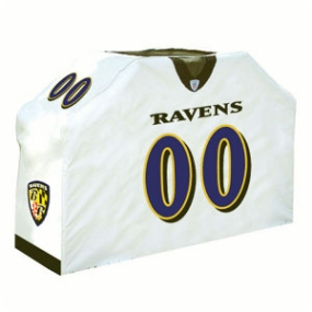 Baltimore Ravens Jersey Grill Cover