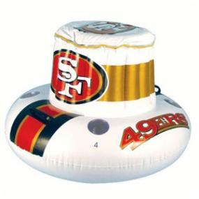 San Francisco 49ers Floating Cooler