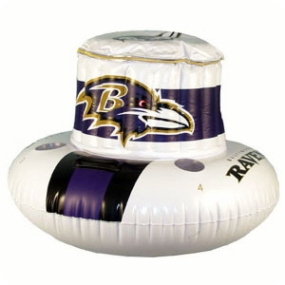 Baltimore Ravens Floating Cooler