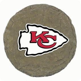 Kansas City Chiefs Garden Stone