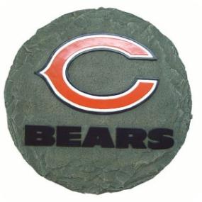Chicago Bears Garden Stone