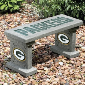 Green Bay Packers Concrete Bench