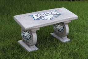 Baltimore Ravens Concrete Bench