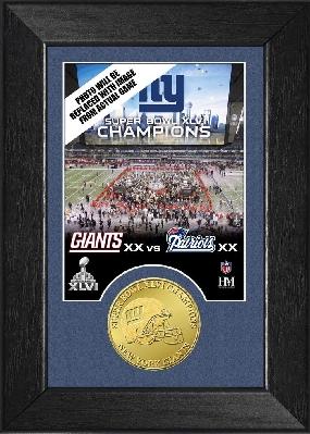 Super Bowl XLVI Champs Mini Mint