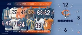 Chicago Bears Uniform History Clock