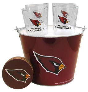 Arizona Cardinals Gift Bucket Set