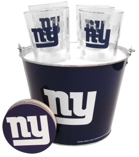 New York Giants Gift Bucket Set