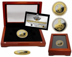 Chicago Blackhawks 2010 Stanley Cup Champions Two-Tone Coin