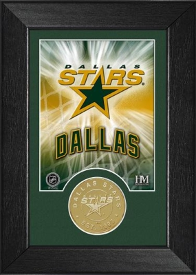 Dallas Stars Bronze Coin Team Mini Mint
