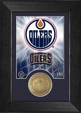 Edmonton Oilers Bronze Coin Team Mini Mint