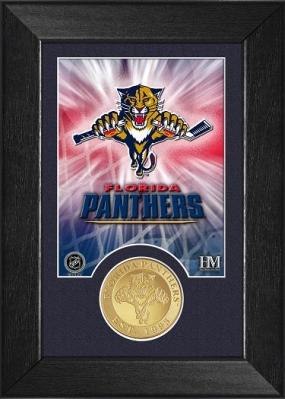 Florida Panthers Bronze Coin Team Mini Mint