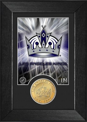 Los Angeles Kings Bronze Coin Team Mini Mint