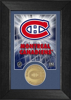 Montreal Canadiens Bronze Coin Team Mini Mint