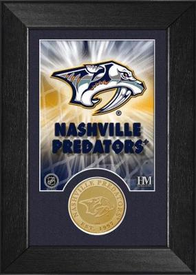 Nashville Predators Bronze Coin Team Mini Mint