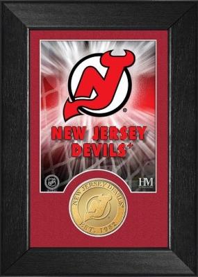 New Jersey Devils Bronze Coin Team Mini Mint