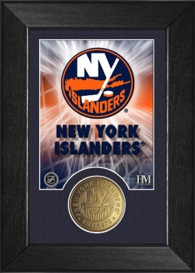 New York Islanders Bronze Coin Team Mini Mint