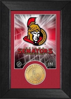 Ottawa Senators Bronze Coin Team Mini Mint